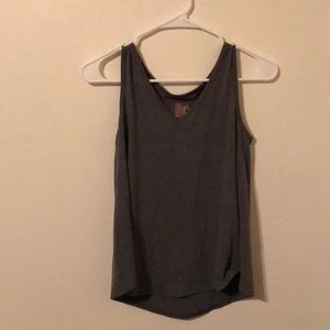 DARK GRAY TANK TOP